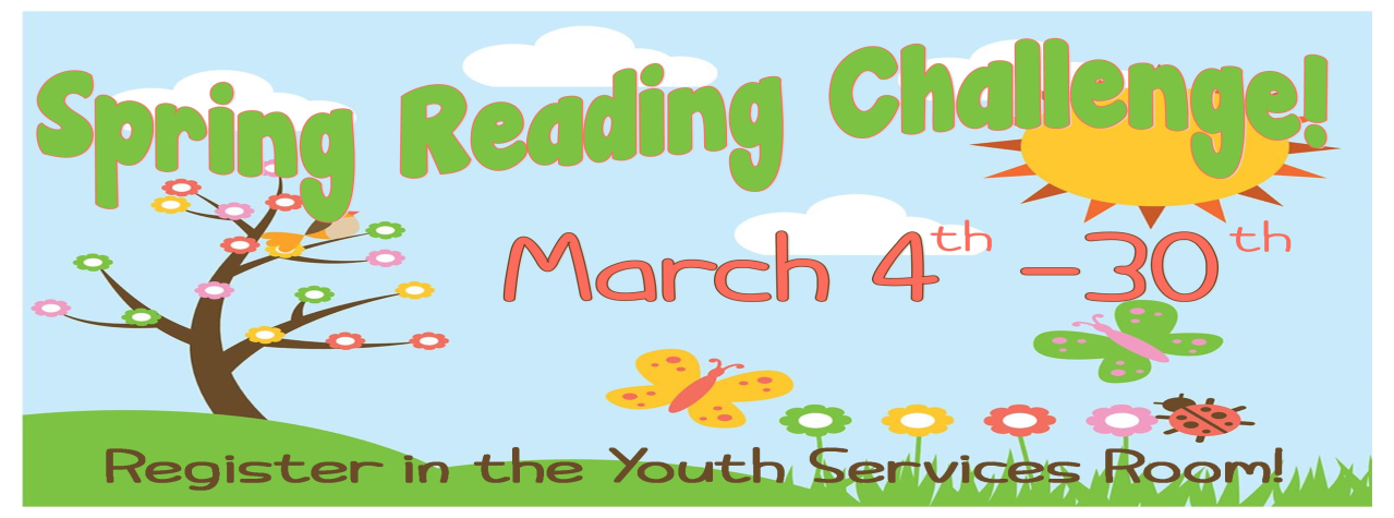 Spring-Reading-Challenge-2019