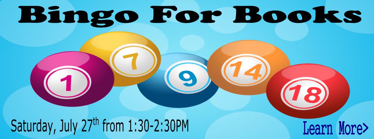 BingoForBooksJuly2019