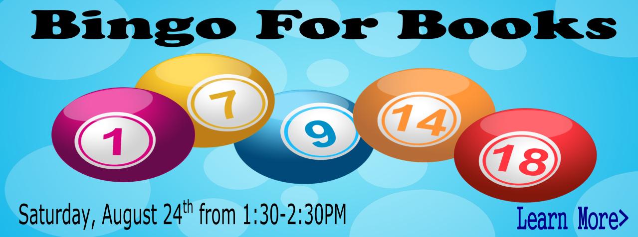 BingoForBooksAugust2019
